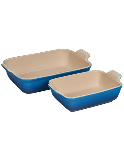 Le Creuset Heritage Rectangular Dish Set of 2