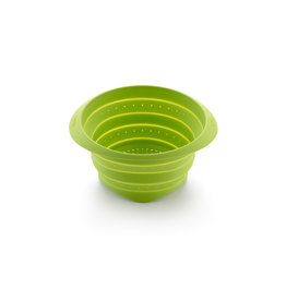 Lekue Collapsible Colander Green