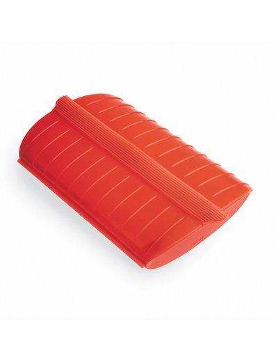 Lekue Steam Case Red no tray