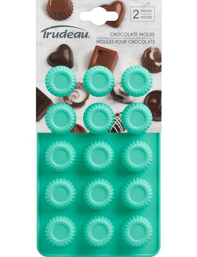 Trudeau 2 pc Chocolate Mold