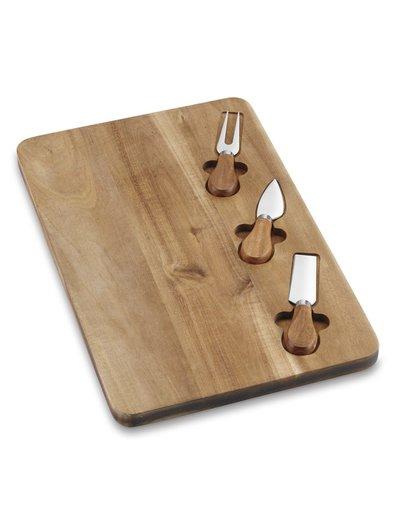 Cuisinart Acacia 4 pc Cheese Board Set IA