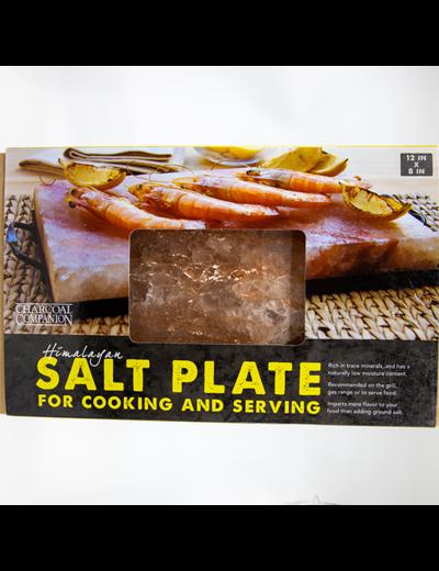 Charcoal Companion Himalayan Salt Plate & Holder Set