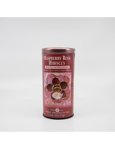 Republic of Tea Raspberry Rose Hibiscus Tea