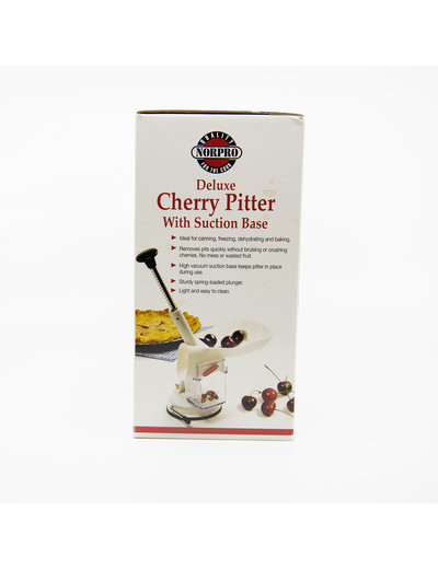 Norpro Cherry Pitter Deluxe W/ Suction Base