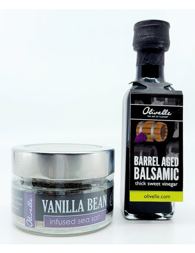 Olivelle Barrel Aged Balsamic Strawberries Recipe Kit