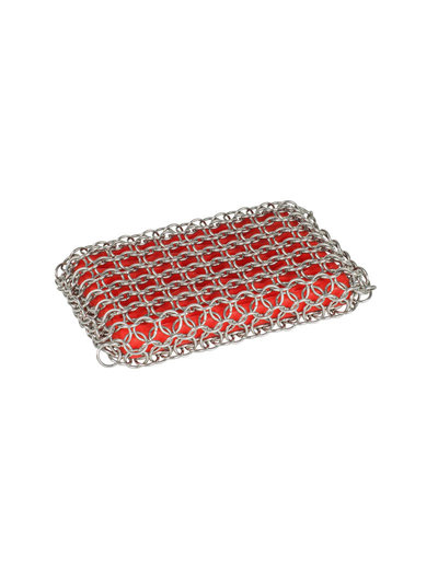 Lodge Red Chainmail Scrubbing Pad