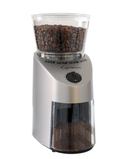 Capresso Infinity Conical Burr -ABS Stainless Finish