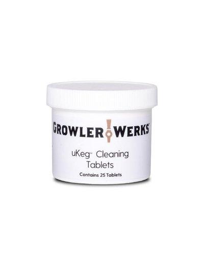 GrowlerWerks uKeg Cleaning Tablets