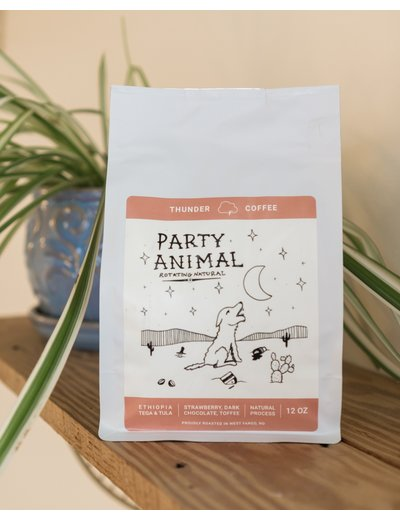 Thunder Coffee Party Animal Coffee Beans*