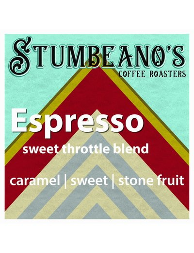Stumbeanos Coffee Sweet Throttle Espresso Blend