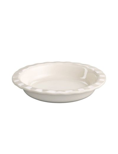 Harold Import Co. Pie Plate 10.5 in White DC