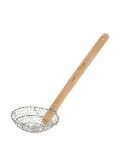 Helen's Aisian Kitchen S/S Spider Strainer Bamboo Handle 7 in