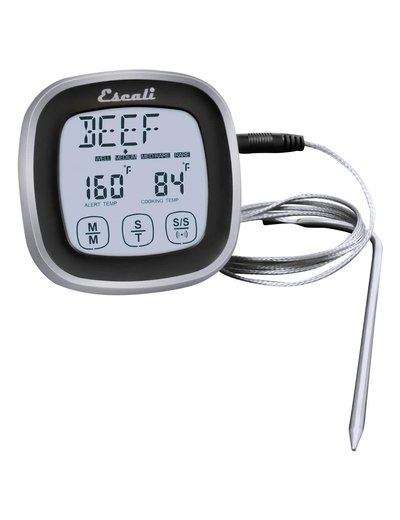 Escali Touch Screen Thermometer Black