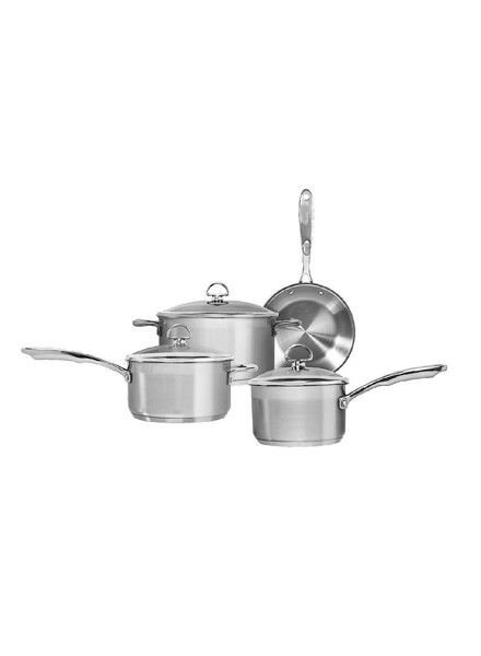 Chantal Stainless Steel or Non-Stick 7-Piece Cookware Sets