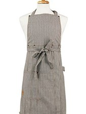 ASD Living Adult Railroad Stripe Apron