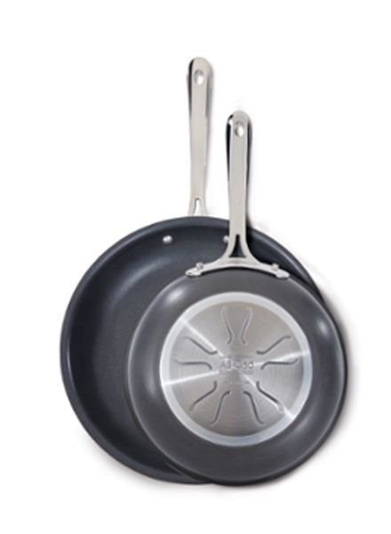 All-Clad Non-Stick 2-Piece Fry Pan Set