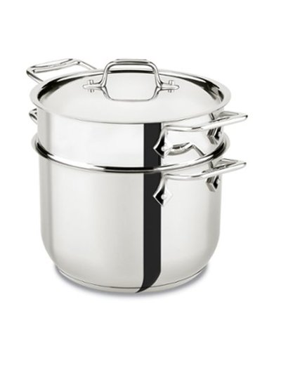 All-Clad Stainless Steel Pasta Pot 6-Quart