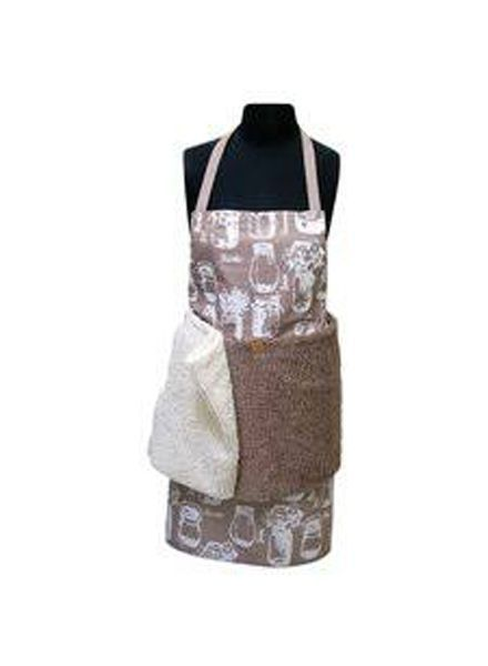 Janey Lynn Apron with Removable Shaggie Towel