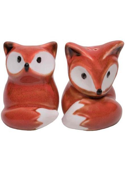 Streamline Foxy Salt & Pepper Shaker Set