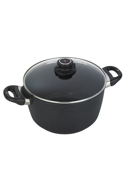Swiss Diamond XD Soup Pot with Lid 5.5-Quart