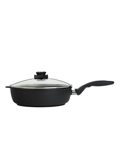 Swiss Diamond XD Induction Saute Pan with Lid 4.3-Quart