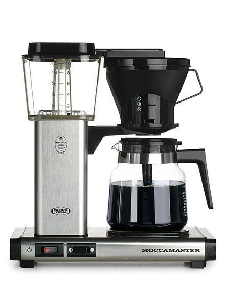 Moccamaster Moccamaster KB Brushed Silver Manual Adjust Drip Coffee Brewer