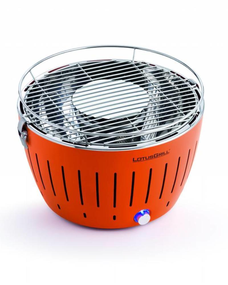 Lotus Grill Smokeless Grill Portable Trailbreaker GT - Mandarin Orange