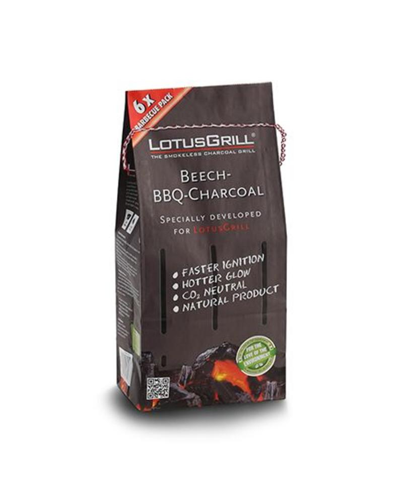 Lotus Grill Beechwood Natural Charcoal 2.2 Bag