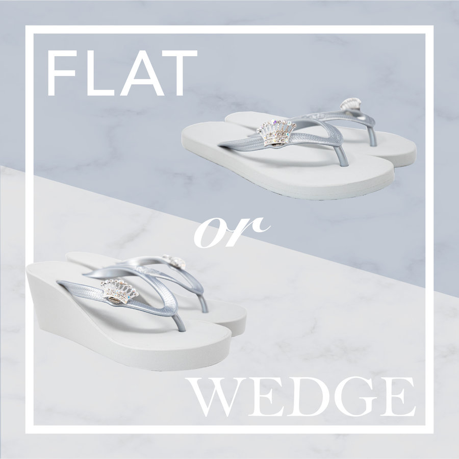 Flat or Wedge