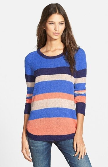 Mink Pink no sleep stripe tunic knit