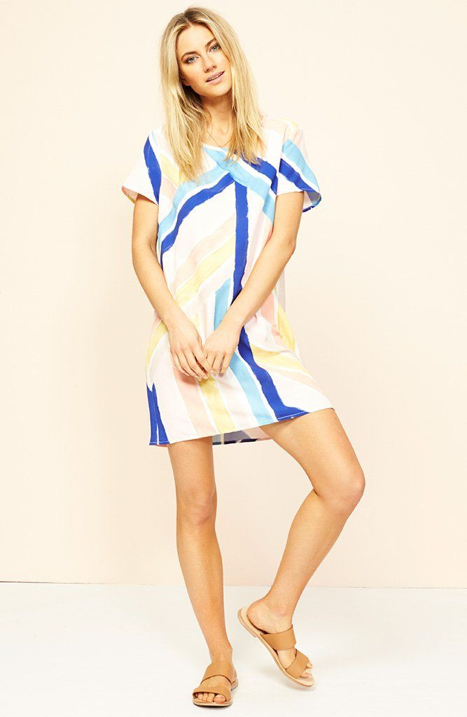 Mink Pink Mara tee dress