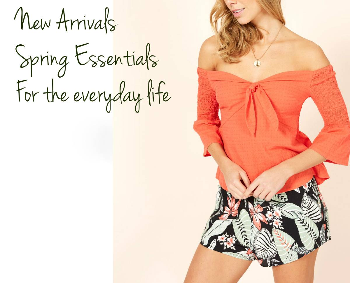 Spring Essentials New Arrivals