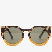 Sunglasses w/geometric print