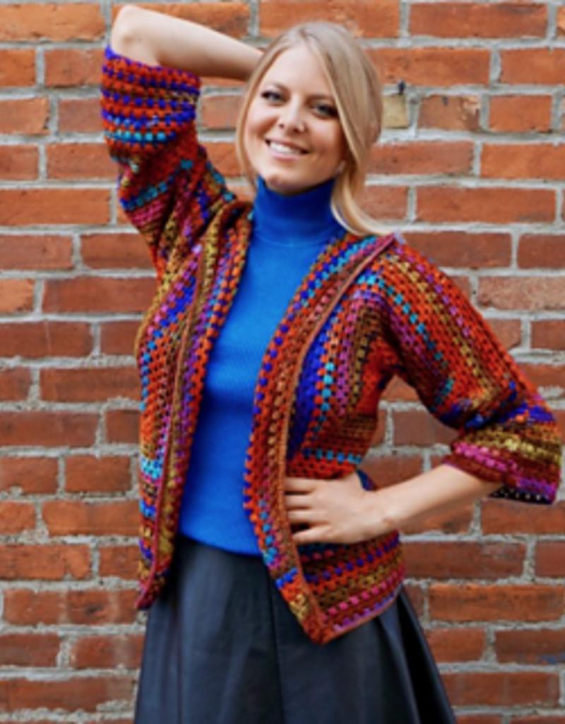 The Amazing Hexagonal Granny Square Sweater