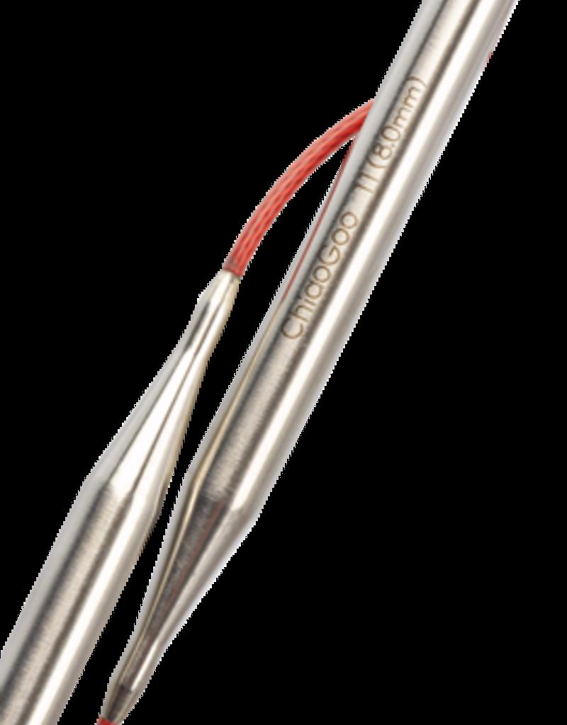 ChiaoGoo Circular Needles - Steel