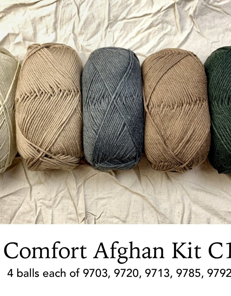 Berroco, Inc. Norah's Vintage Afghan Kit