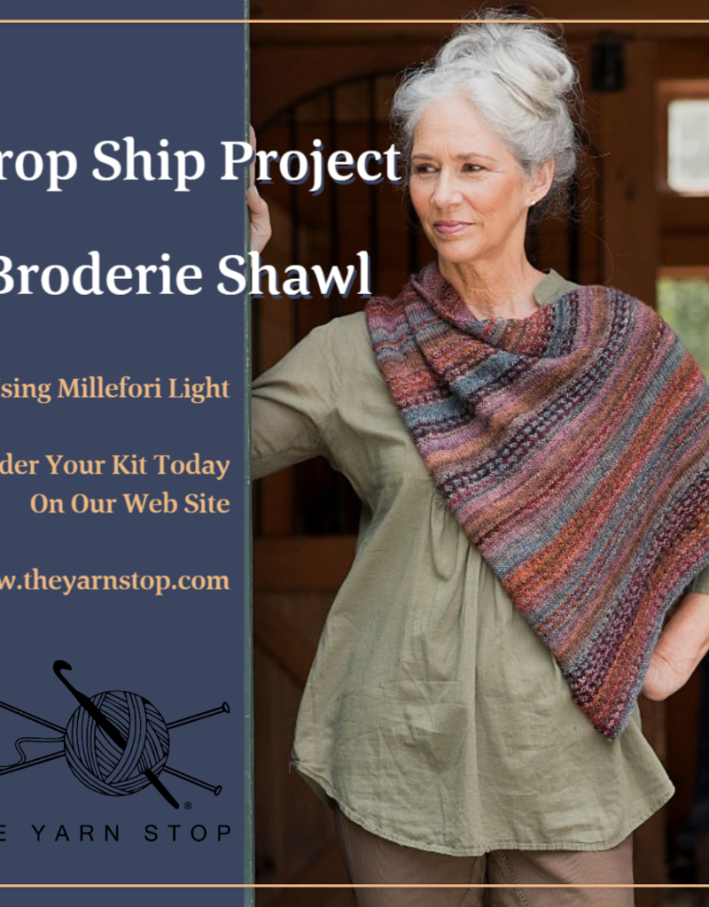 Berroco, Inc. Broderie Shawl Kit