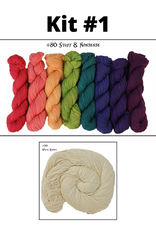 Frabjous Fibers True Colors Shawl Kit
