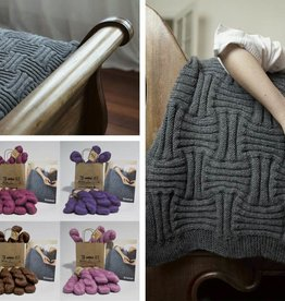 Araucania Basket Weave Throw - Araucania