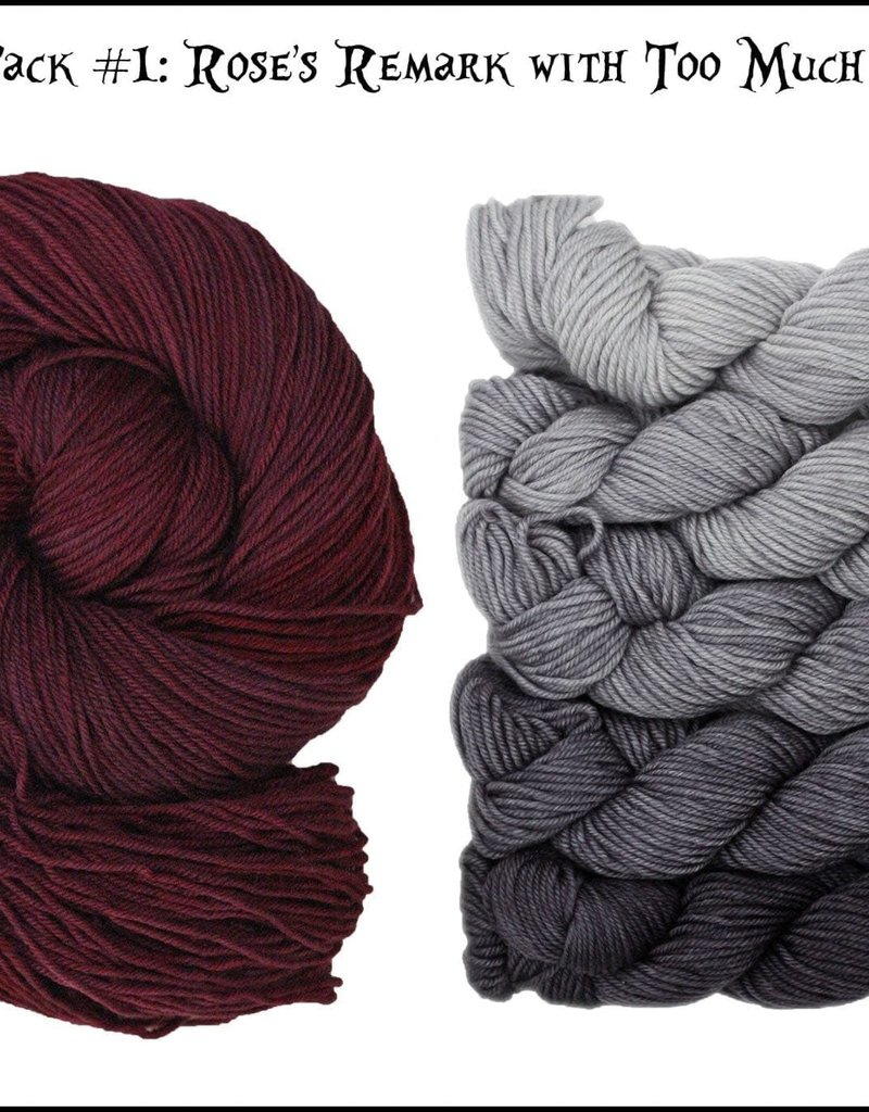 Frabjous Fibers Which Way Shawl Kit