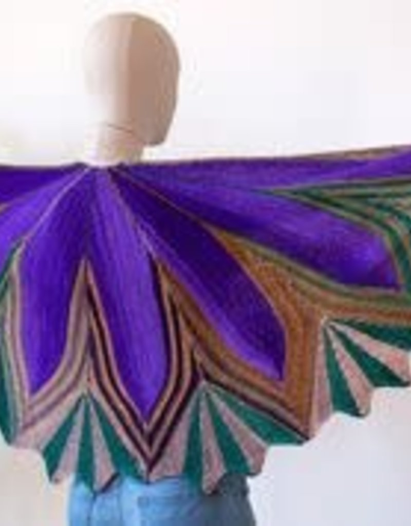 Urth Yarns Petals Shawl - Kit