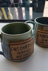 "The Yarn Stop ""Crocheting Is Kinda' My Thing"" Mug"