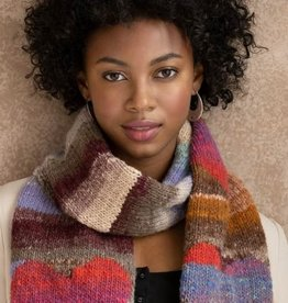 Noro Heart Scarf