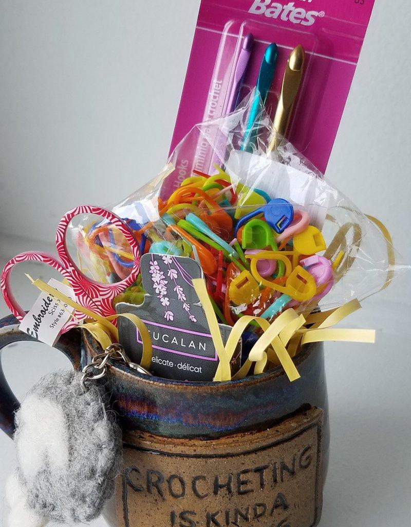 The Yarn Stop Celebration Mug (Crochet)