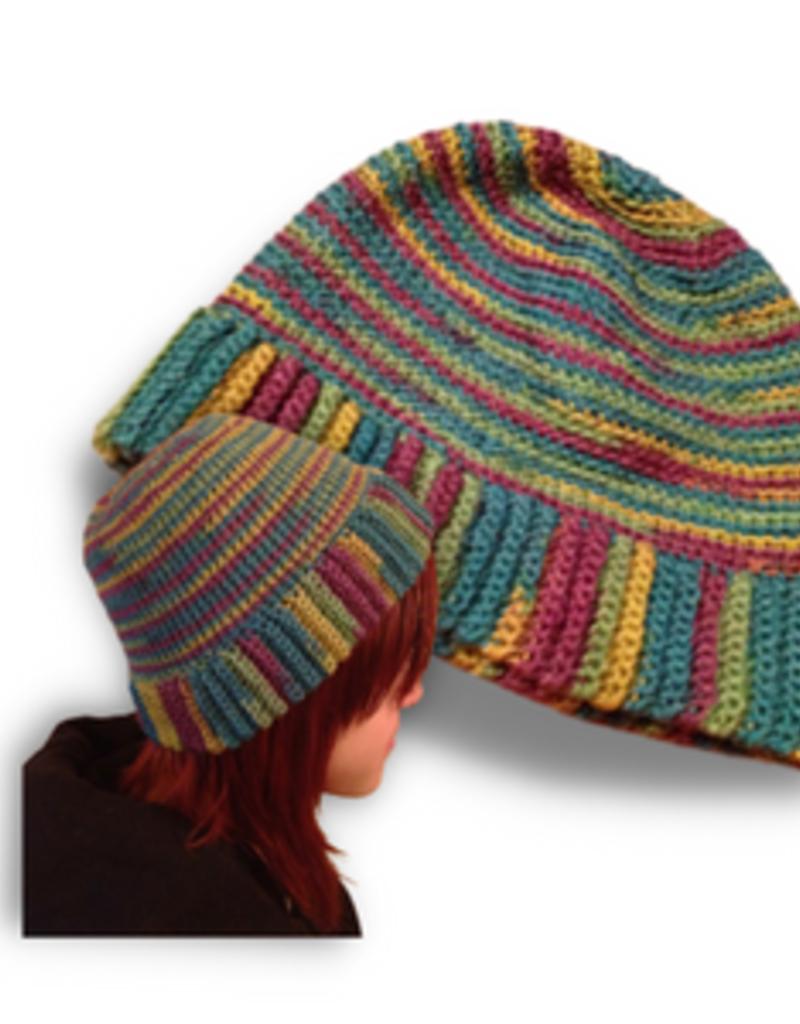 The Yarn Stop Reversible Beanie / Slouch Hat (Crochet)