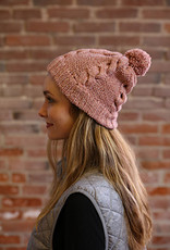 Moon Shadow Cable & Seed Stitch Hat