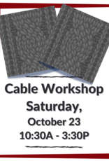 The Yarn Stop Cable Workshop (Knit)
