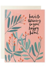 Thriving Happy Home Card