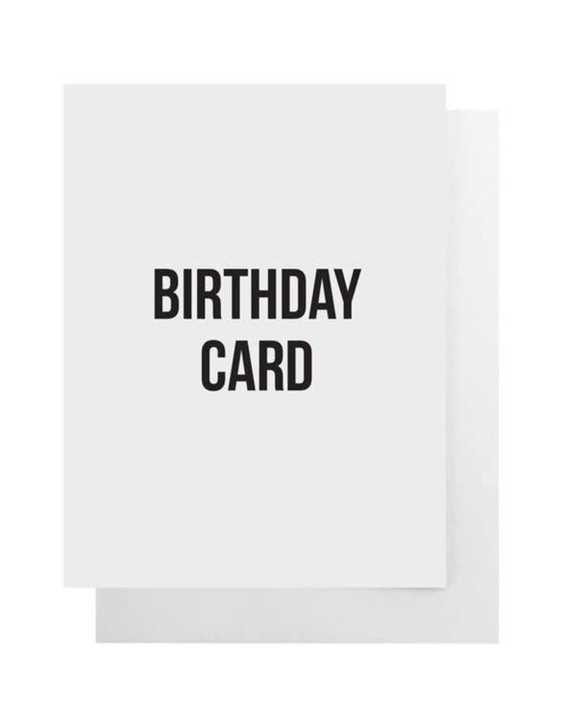 Birthday Card Card