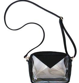 Stadium Crossbody Bag - Black